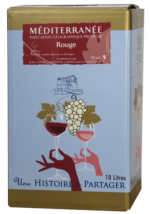 BIB IGP Vin de Pays Méditerranée Rouge