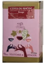 BIB Côtes du Rhône Rouge 5l