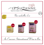 NOS MEDAILLES D'OR AU CONCOURS WINE IN BOX 2018