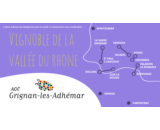 À LA DÉCOUVERTE DE l'AOP GRIGNAN-LES-ADHÉMAR.