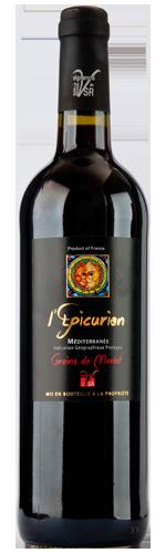 Vin de Pays de Méditerranée Cépage Merlot Epicurien 2017