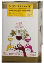 BIB IGP Chardonnay Blanc 10L