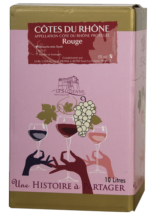 BIB Côtes du Rhône Rouge 10L