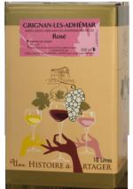 BIB Grignan-les-Adhémar Rosé 10L