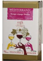 BIB IGP de Méditerranée Merlot 5l