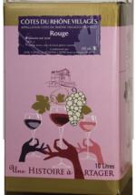 BIB Côtes du Rhône Villages Rouge 5l