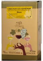 BIB Grignan-les-Adhémar Blanc 5l