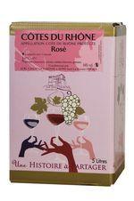 BIB Côtes du Rhône Rosé 5l