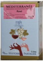BIB IGP de Méditerranée Rosé 5l