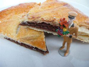 La galette des rois au chocolat Valrhona
