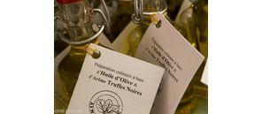 Huile d'olive truffée